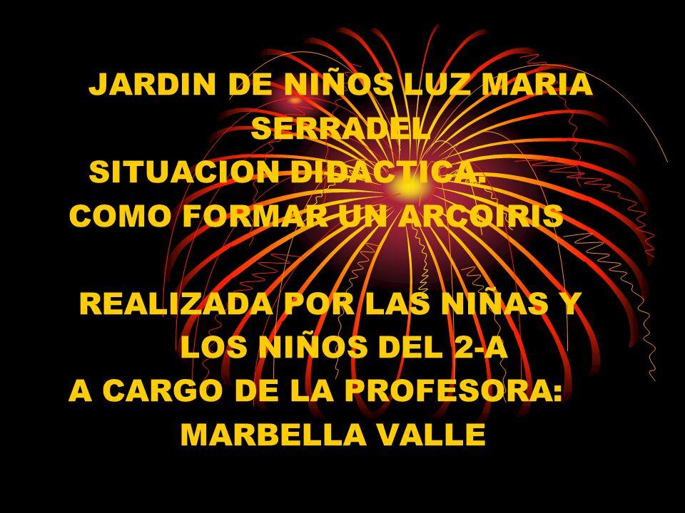 JARDIN DE NIÑOS LUZ MARIA SERRADEL SITUACION DIDACTICA