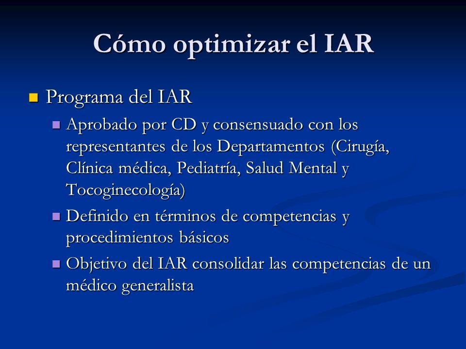 Cómo optimizar el IAR Programa del IAR