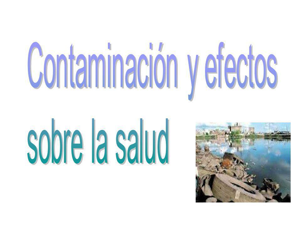 Contaminación y efectos