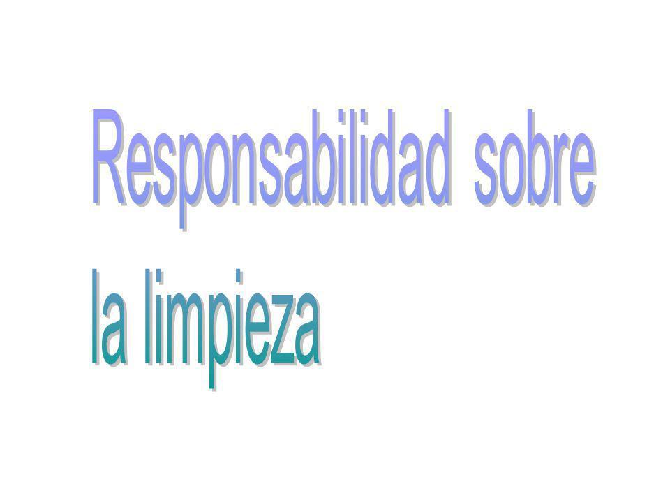 Responsabilidad sobre