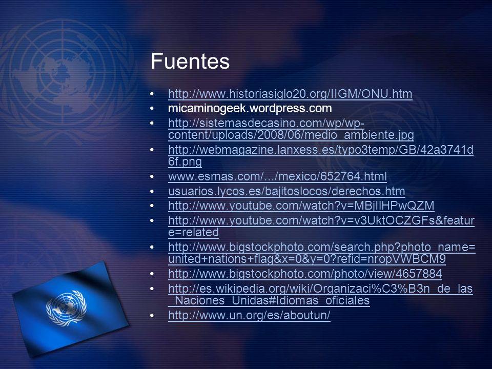 Fuentes http://www.historiasiglo20.org/IIGM/ONU.htm