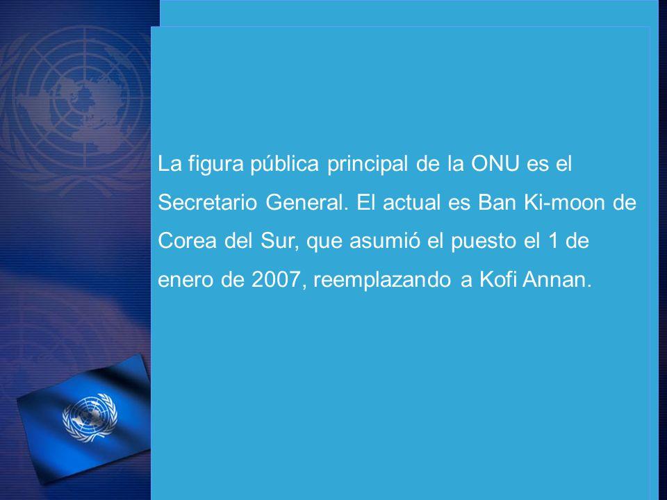 La figura pública principal de la ONU es el