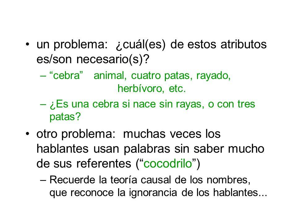 un problema: ¿cuál(es) de estos atributos es/son necesario(s)