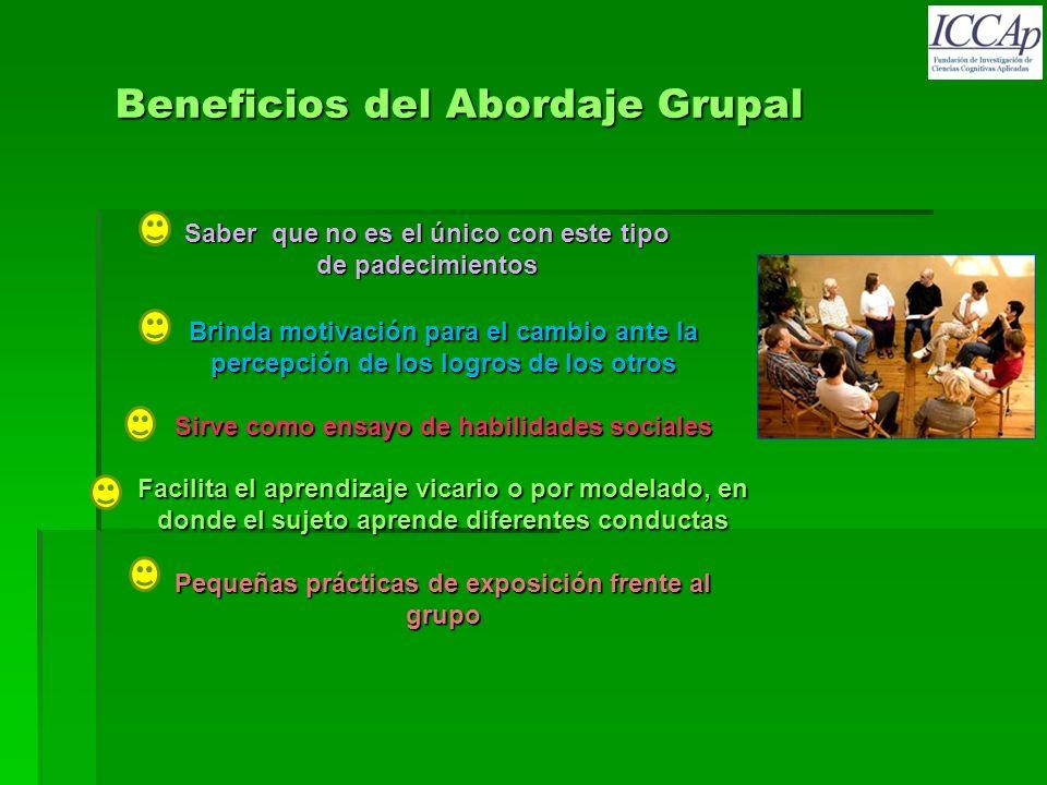 Beneficios del Abordaje Grupal