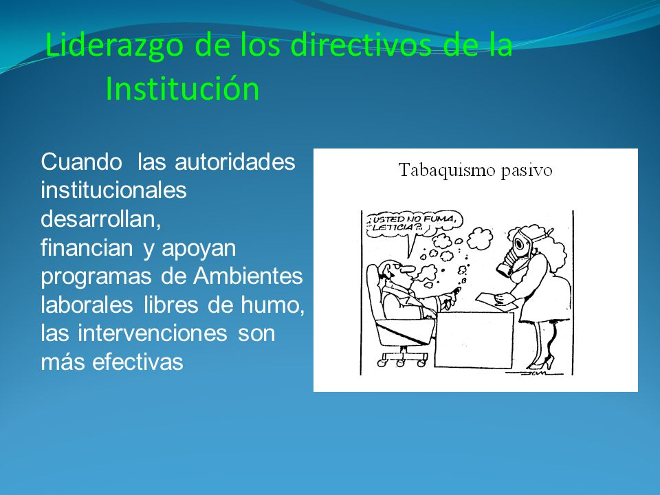 Liderazgo de los directivos de la Institución