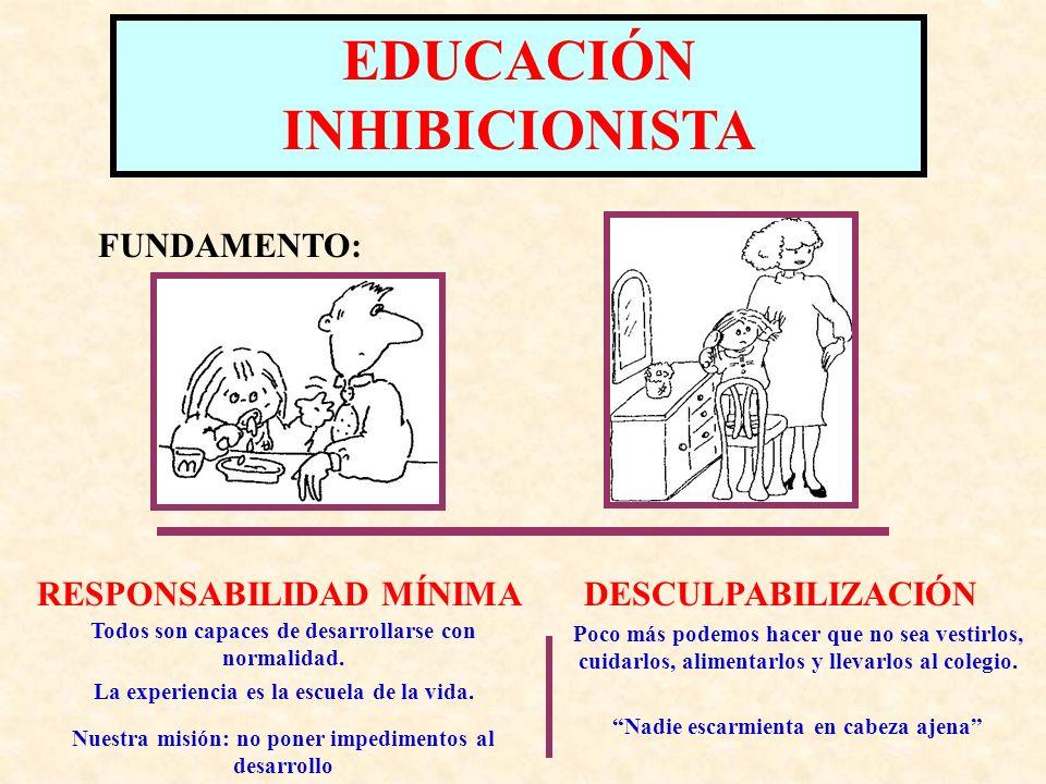 EDUCACIÓN INHIBICIONISTA