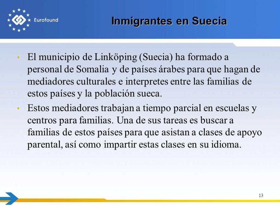 Inmigrantes en Suecia