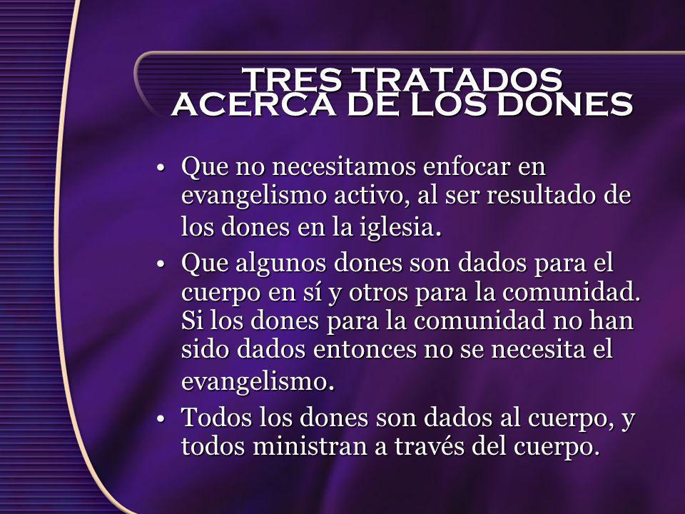 TRES TRATADOS ACERCA DE LOS DONES