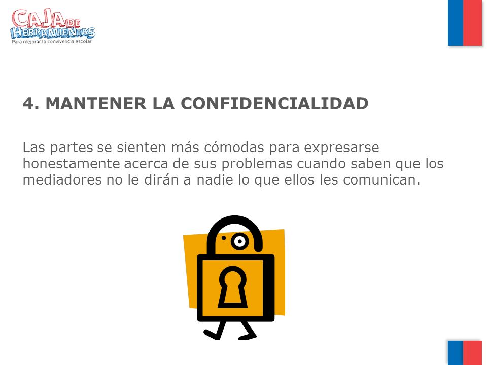 MANTENER LA CONFIDENCIALIDAD