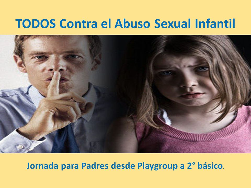 TODOS Contra el Abuso Sexual Infantil