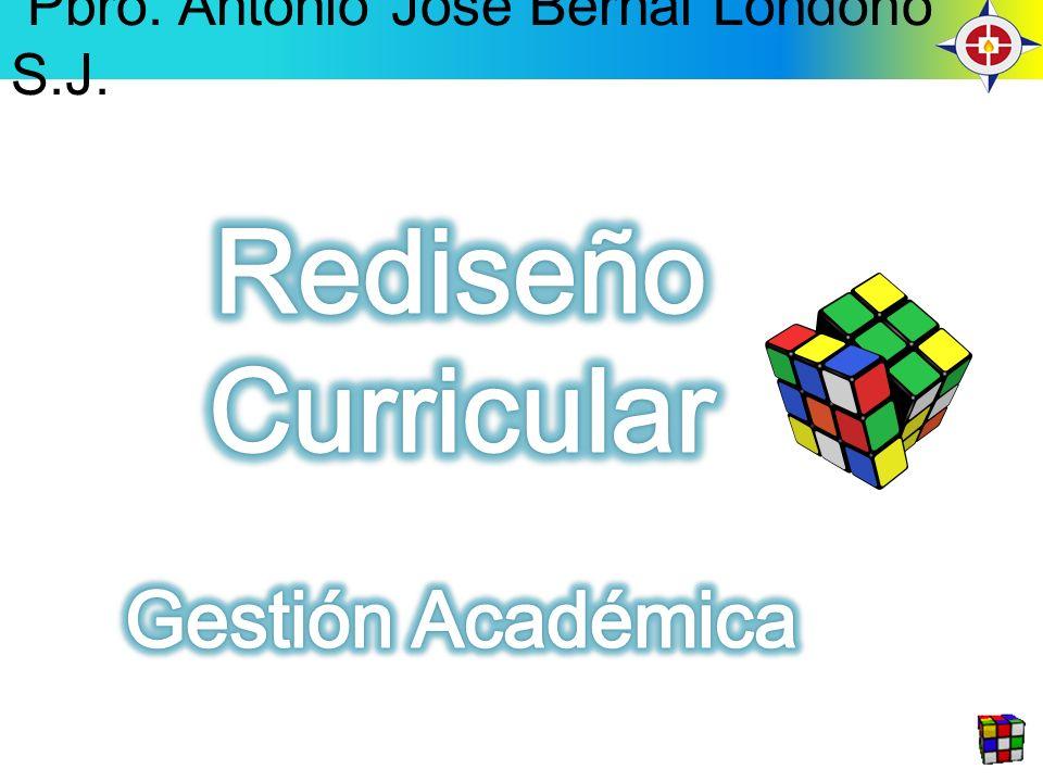 Rediseño Curricular Gestión Académica