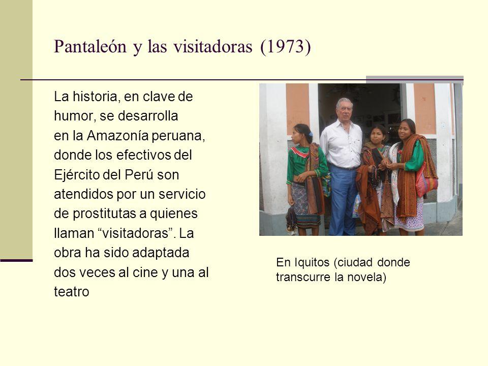 Pantaleón y las visitadoras (1973)