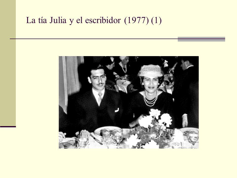 La tía Julia y el escribidor (1977) (1)