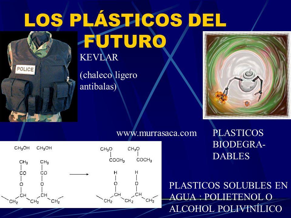 LOS PLÁSTICOS DEL FUTURO