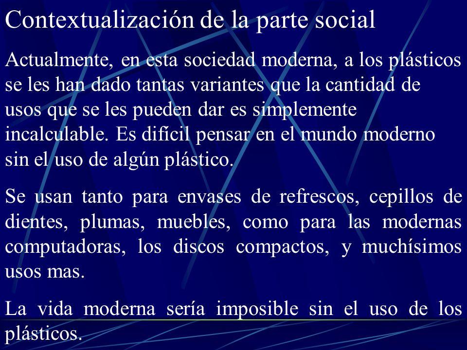 Contextualización de la parte social