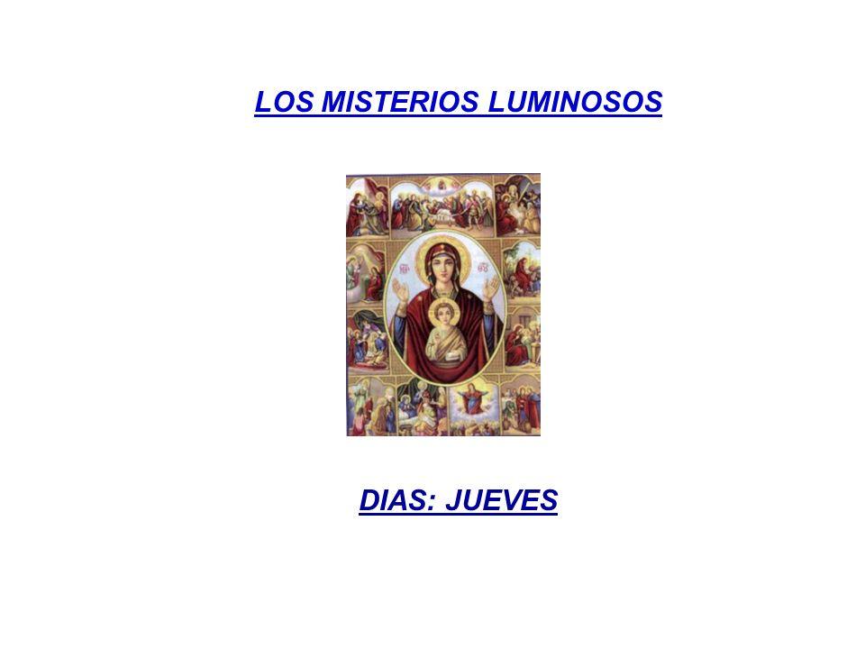 LOS MISTERIOS LUMINOSOS
