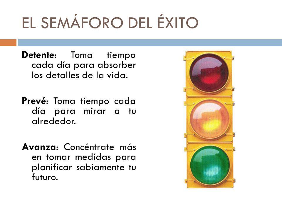 EL SEMÁFORO DEL ÉXITO