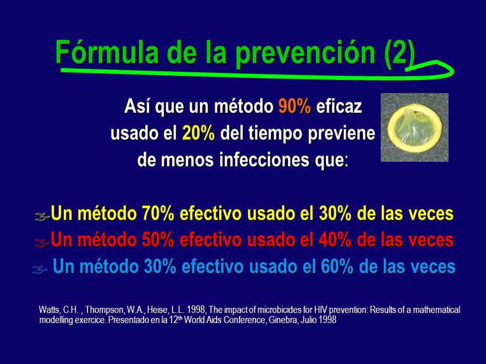 Fórmula de la prevención (2)