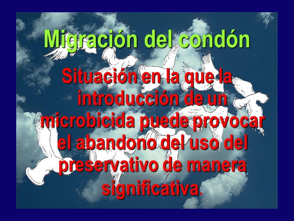 Migración del condón