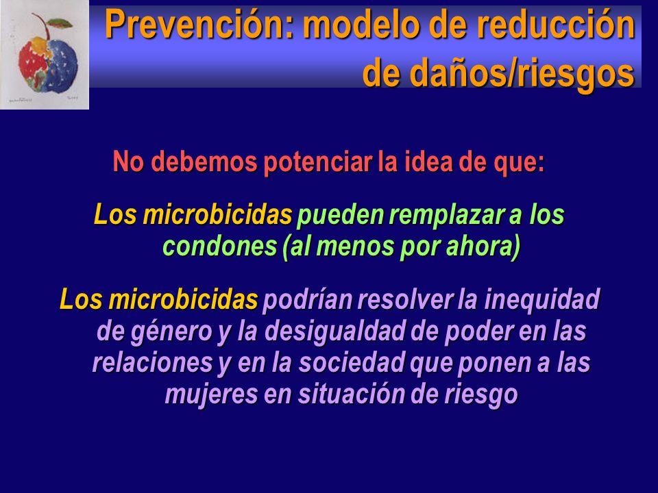 Prevención: modelo de reducción de daños/riesgos