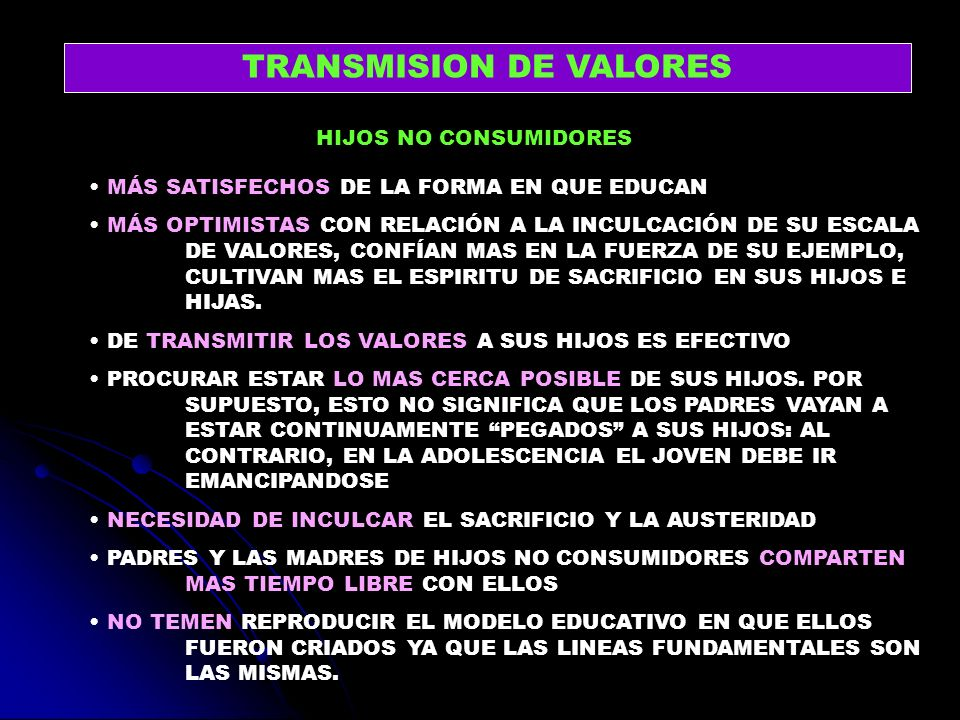 TRANSMISION DE VALORES