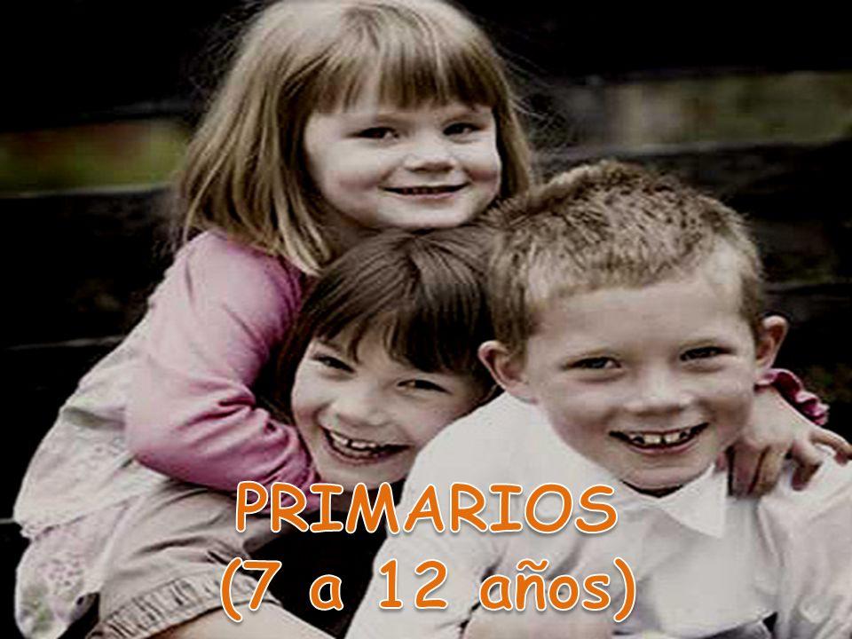 PRIMARIOS (7 a 12 años)