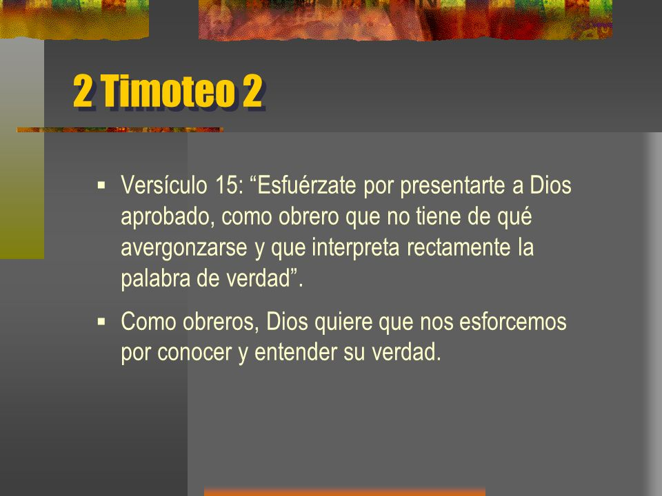 2 Timoteo 2