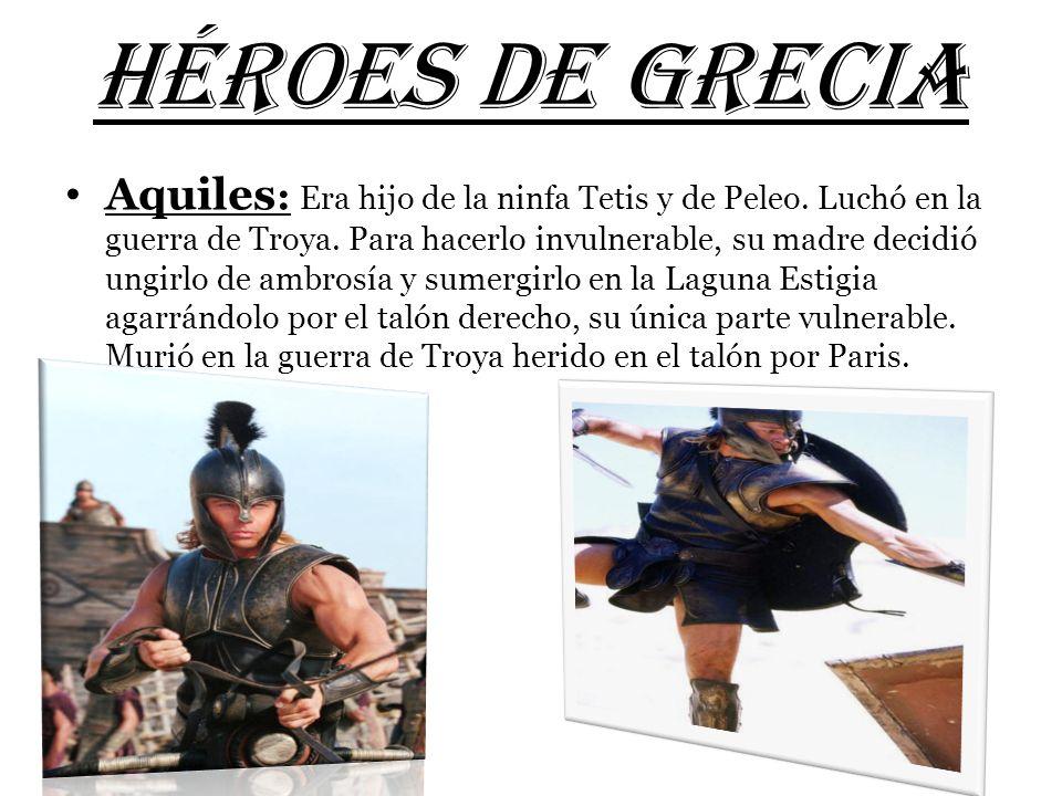HÉROES DE GRECIA
