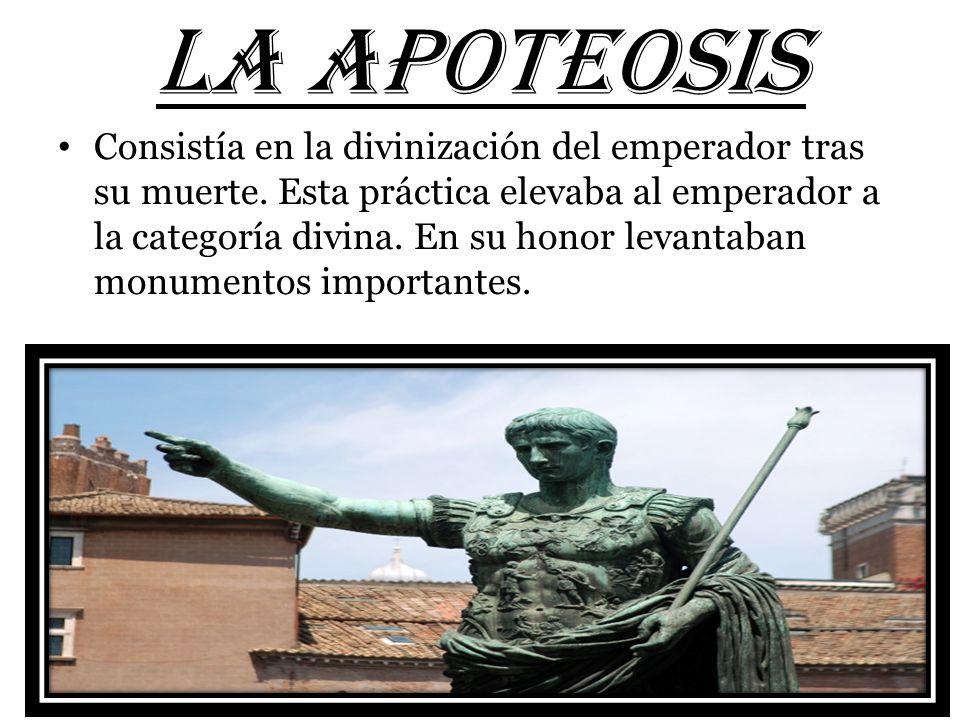 LA APOTEOSIS