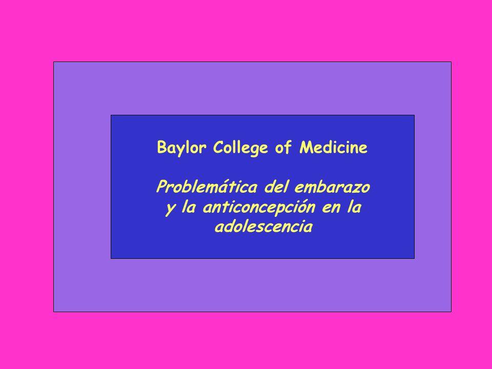 Baylor College of Medicine Problemática del embarazo