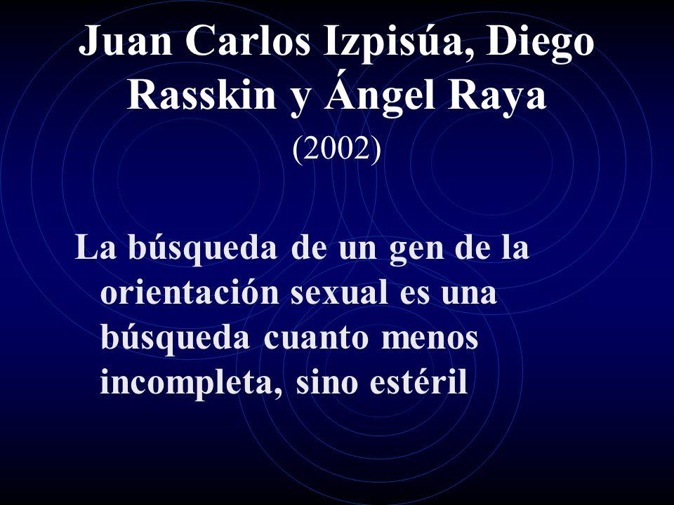 Juan Carlos Izpisúa, Diego Rasskin y Ángel Raya (2002)