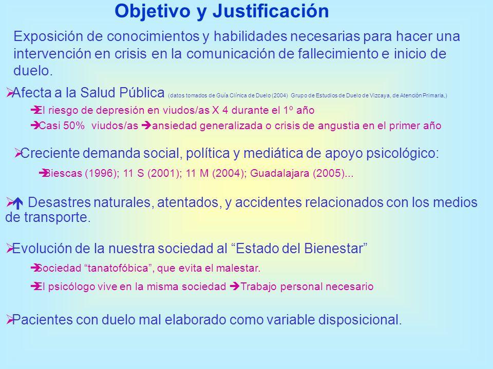 Objetivo y Justificación