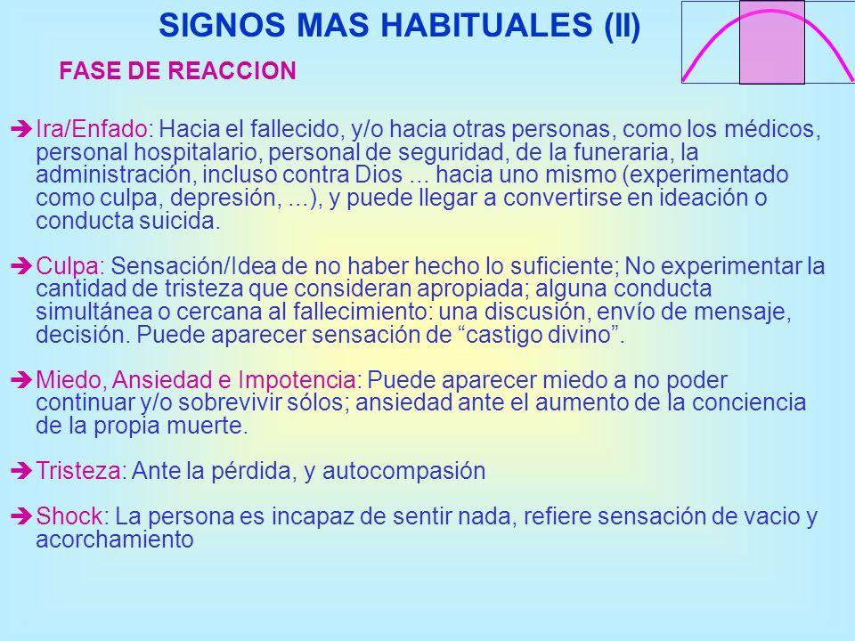 SIGNOS MAS HABITUALES (II)