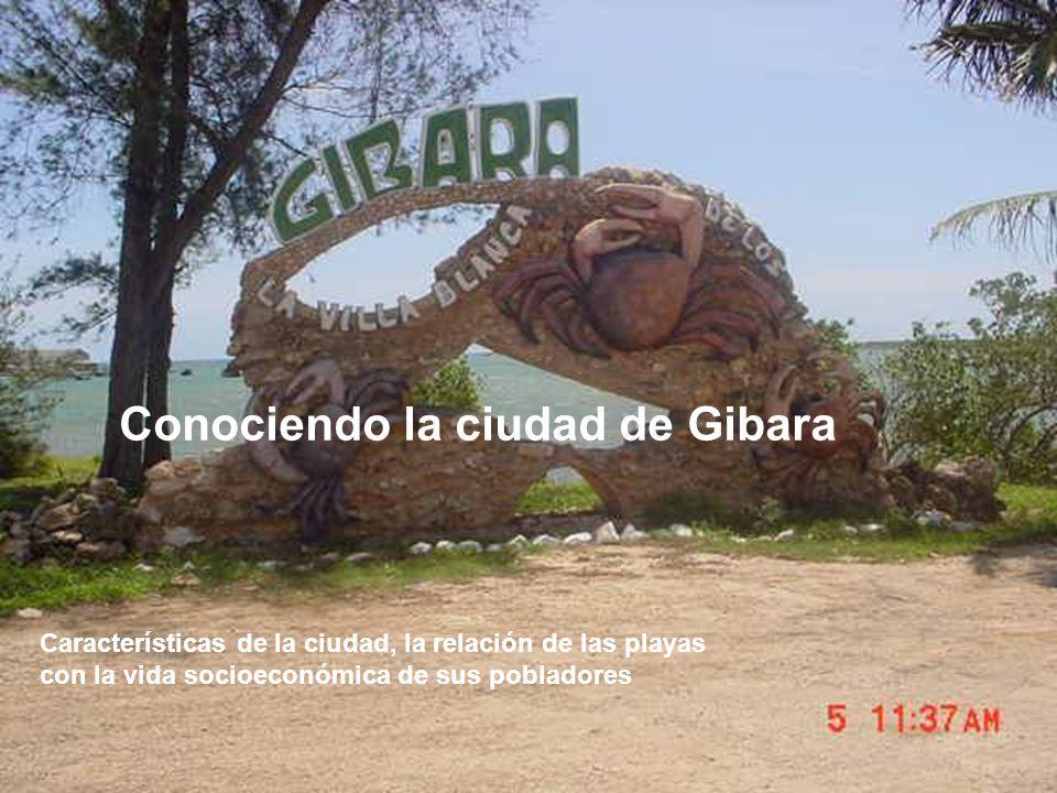 Conociendo la ciudad de Gibara