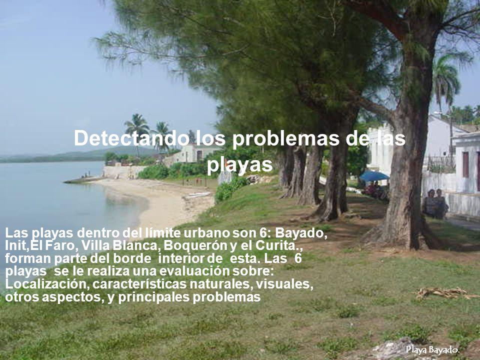 Detectando los problemas de las playas