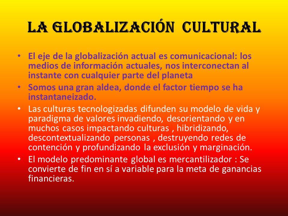 la Globalización cultural