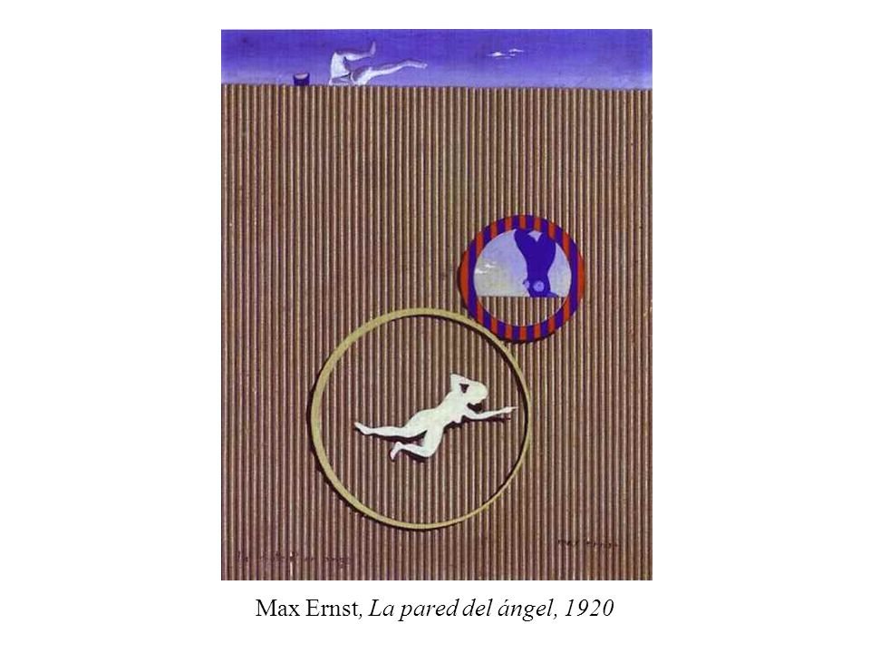 Max Ernst, La pared del ángel, 1920