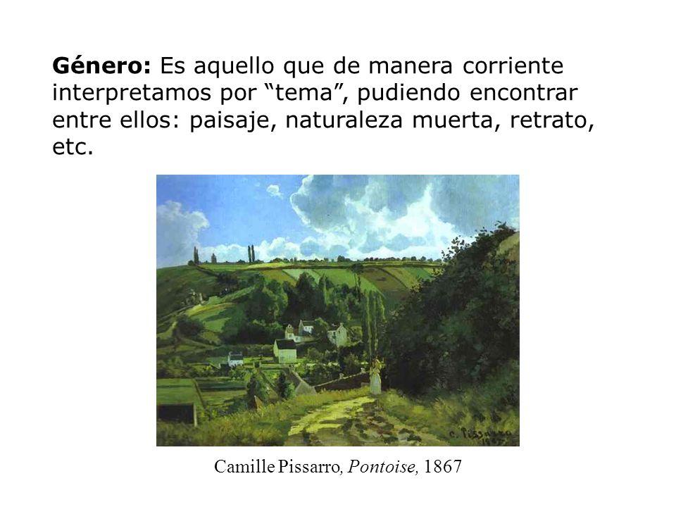 Camille Pissarro, Pontoise, 1867