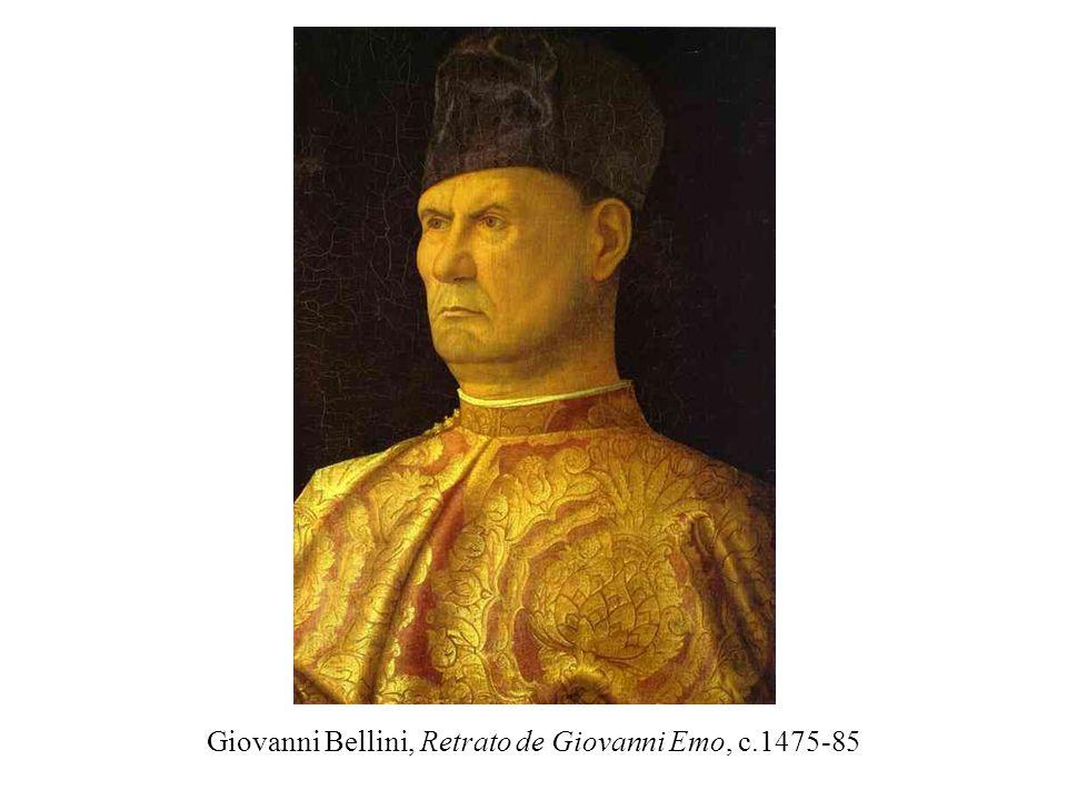 Giovanni Bellini, Retrato de Giovanni Emo, c.1475-85