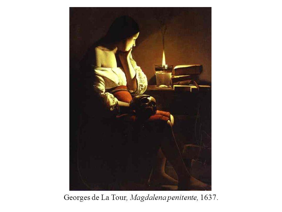 Georges de La Tour, Magdalena penitente, 1637.
