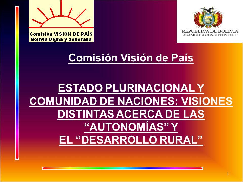 Comisión Visión de País