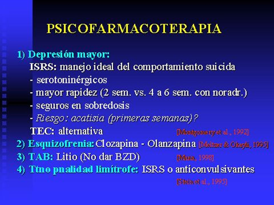 TAB= Trastornos afectivo bipolar.