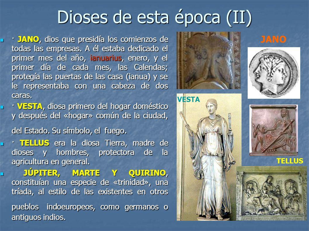 Dioses de esta época (II)