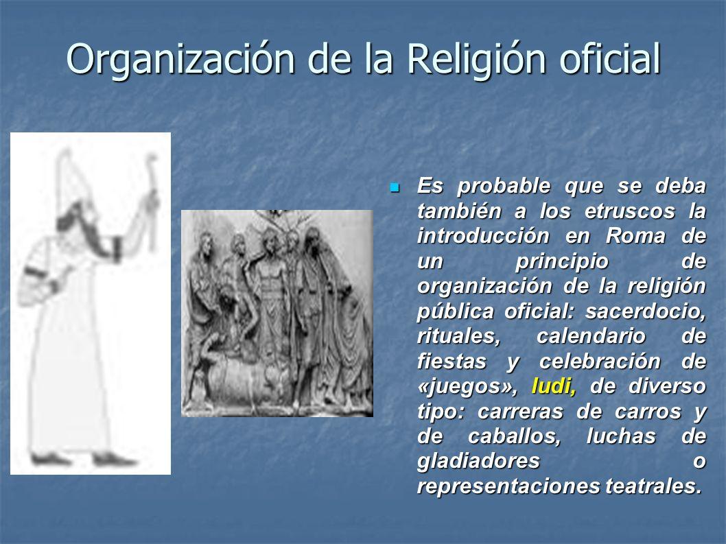 Organización de la Religión oficial