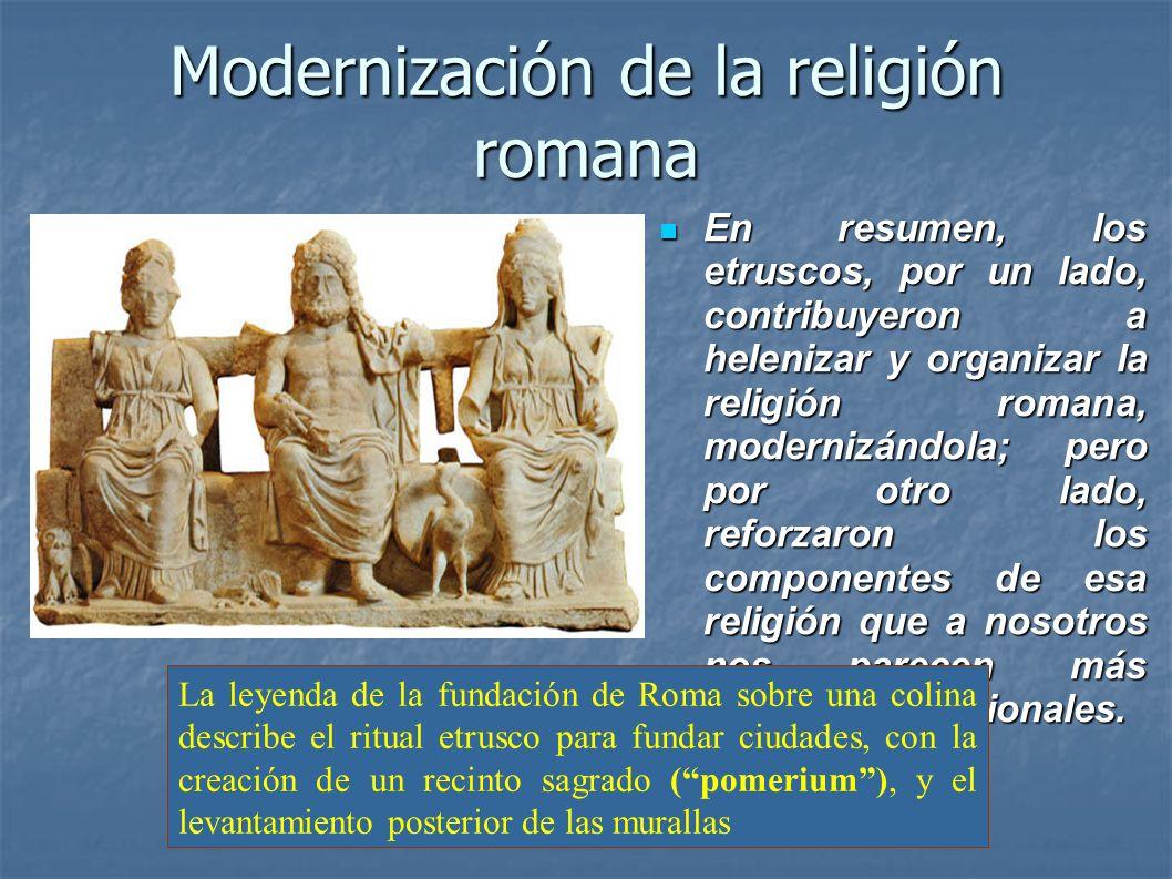 Modernización de la religión romana