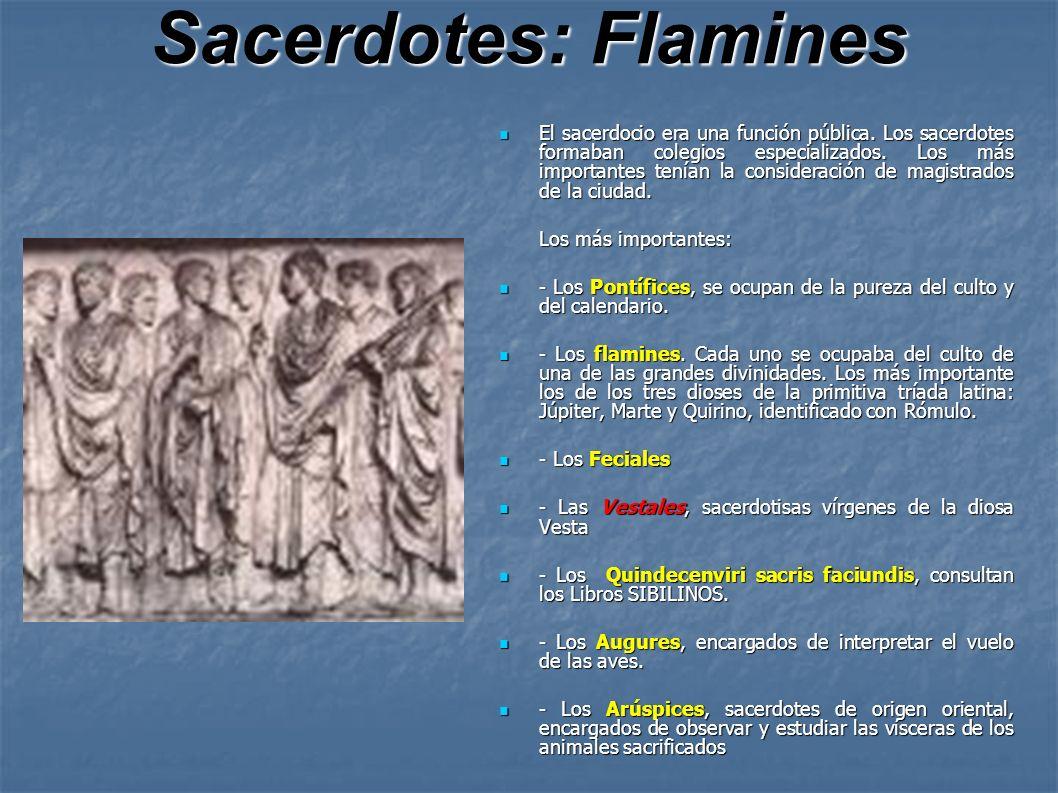 Sacerdotes: Flamines