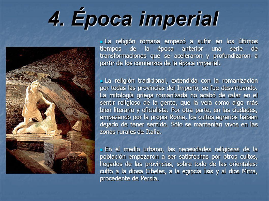 4. Época imperial
