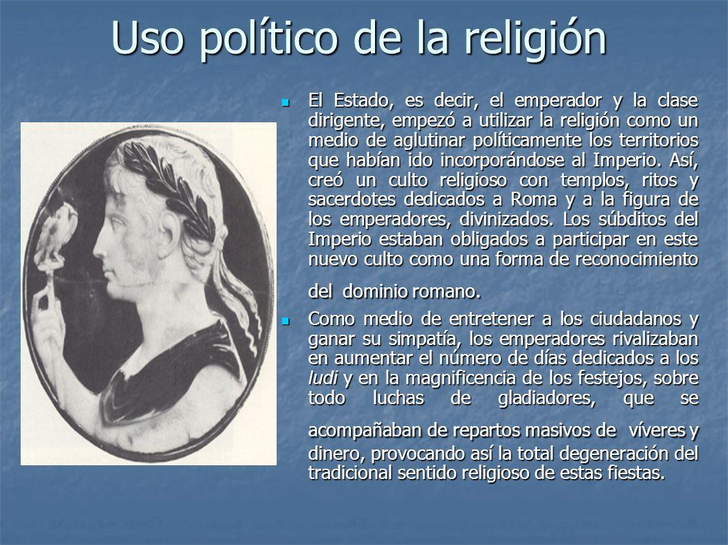 Uso político de la religión