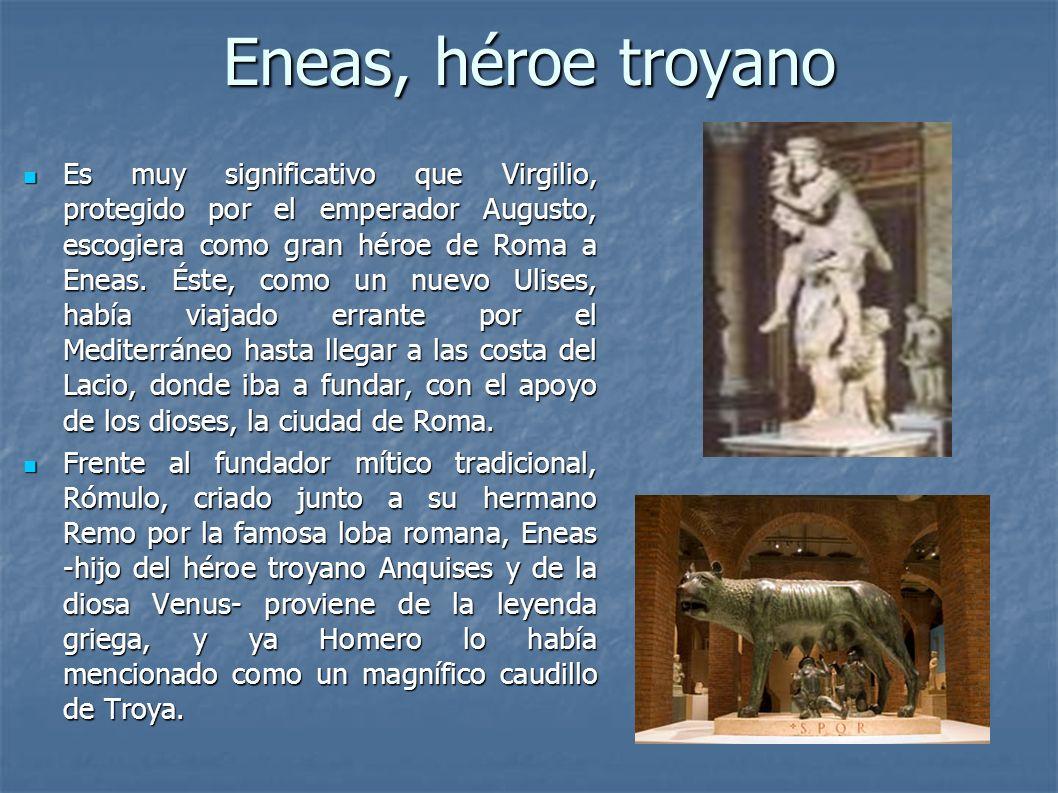 Eneas, héroe troyano