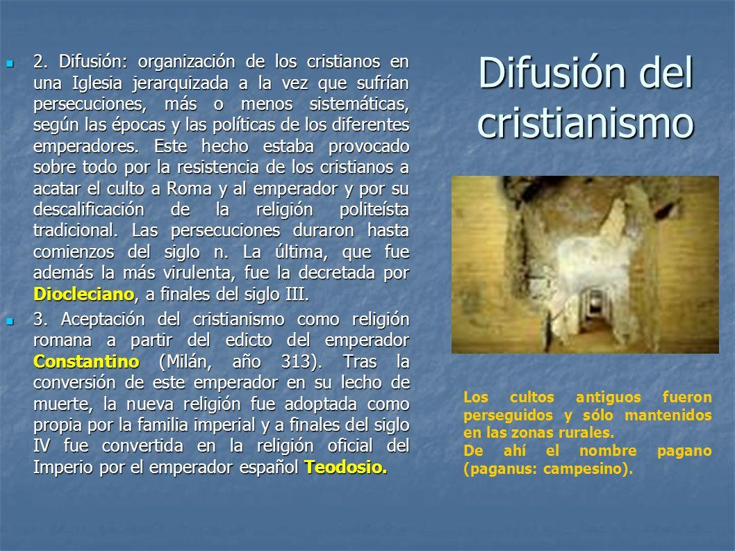Difusión del cristianismo